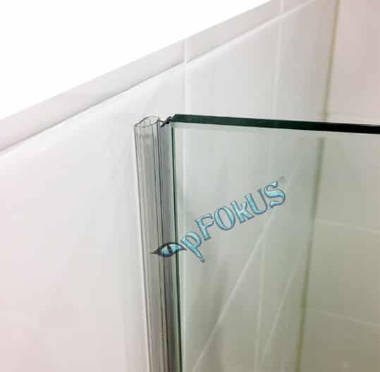 DS106 Frameless Shower Door Seal