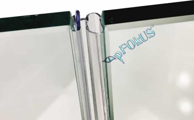 DS106 Frameless Shower Door Seal | pFOkUS