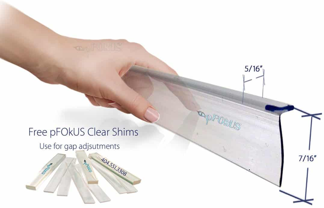 ds9397 framed glass shower door sweep wipe seals replacement plastic piece pfokus quality