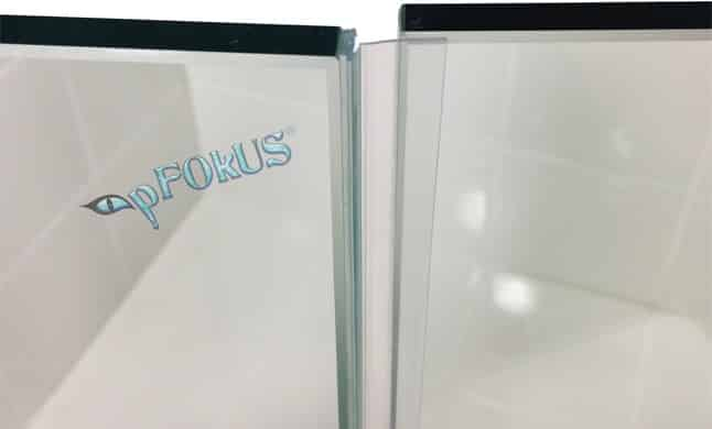 Ds9397 Frameless Shower Door T Shape Side Seal Clear Pfokus