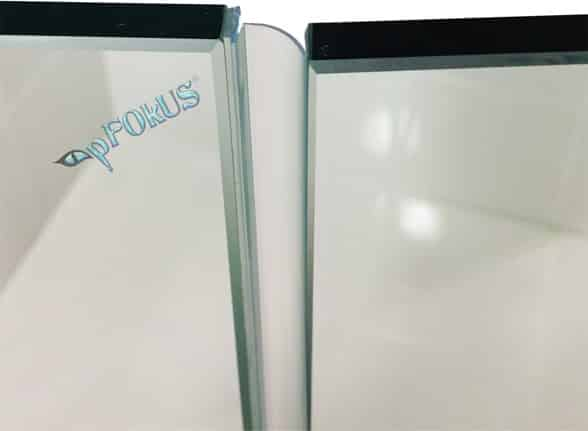 ds9397 frameless shower door t shape side seal