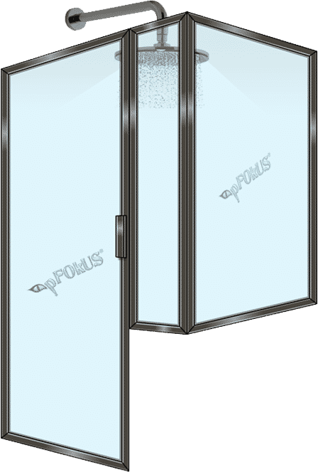 Buy Framed Shower Door Drip Rails DS203 - Quality Drip Rails | pFOkUS
