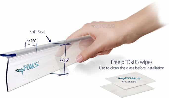 Frameless Shower Door Seals pFOkUS Quality
