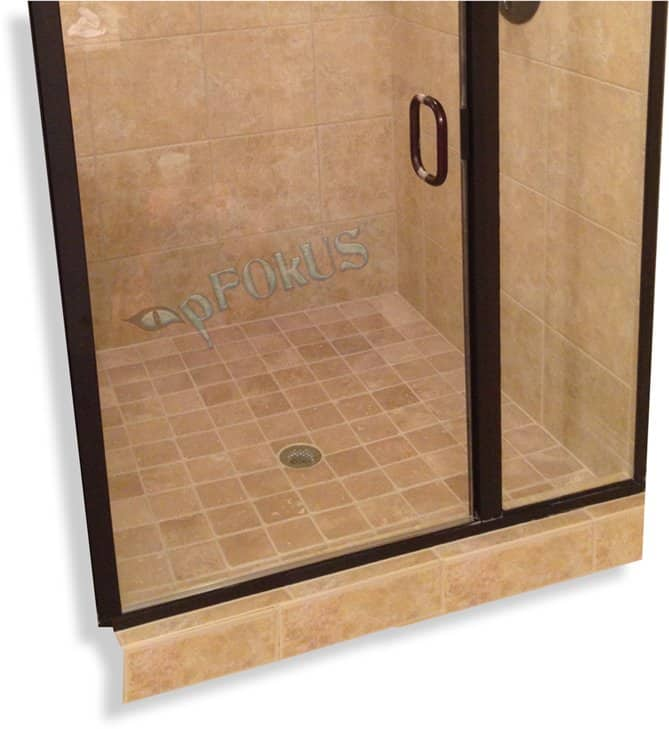 Benaz Glass Water Spot Remover Shower Doors