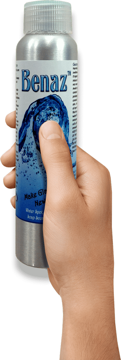 benaz glass water spot remover cleaner pFOKUS
