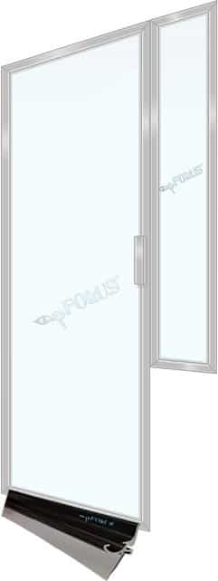 Framed Shower Door Drip Rail