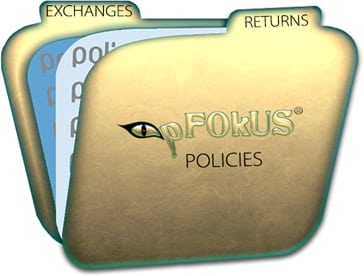 return policy pFOKUS