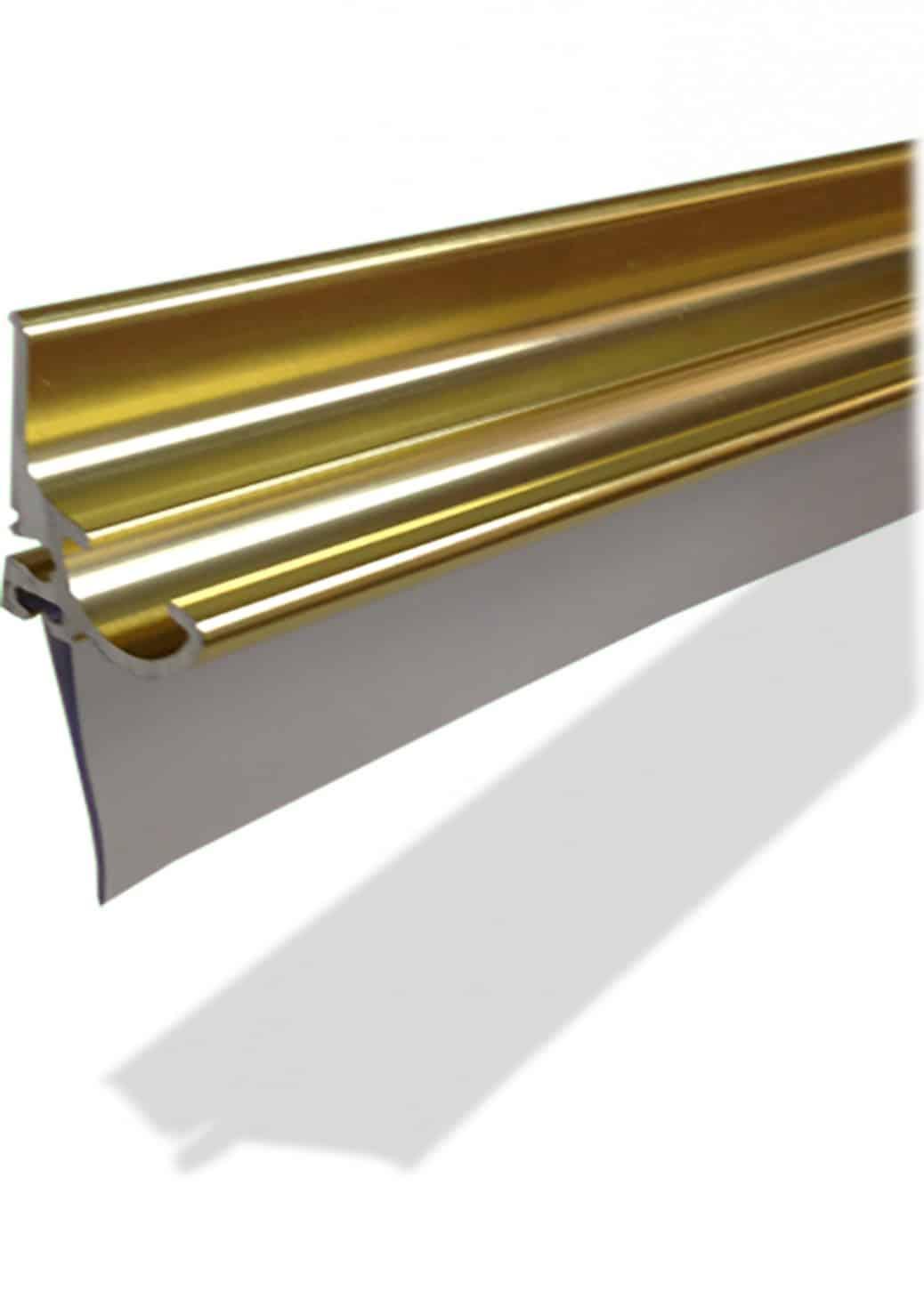How to replace shower door drip rail - Ds202 Shower Glass Door Metal Drip Rail Leaking Seal Wipe Replacement Quality Pfokus 1038x1451 Jpg