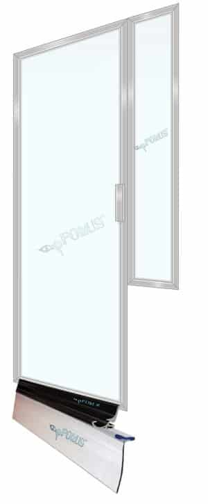 DS8211 Framed Shower Glass Enclosure pFOkUS