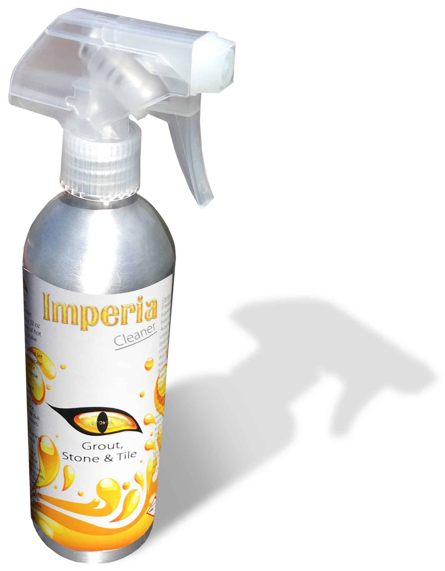 Imperia Maintenance Tile and Grout Cleaner with Shower Aluminum Spray Bottle