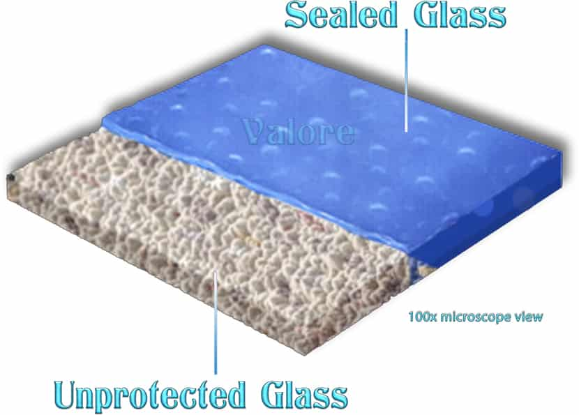 Valore Protected Sealed Unsealed Glass pFOKUS