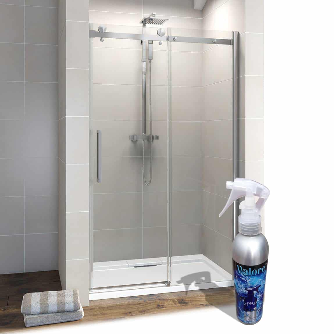 sealing glass shower doors has never been so easy
