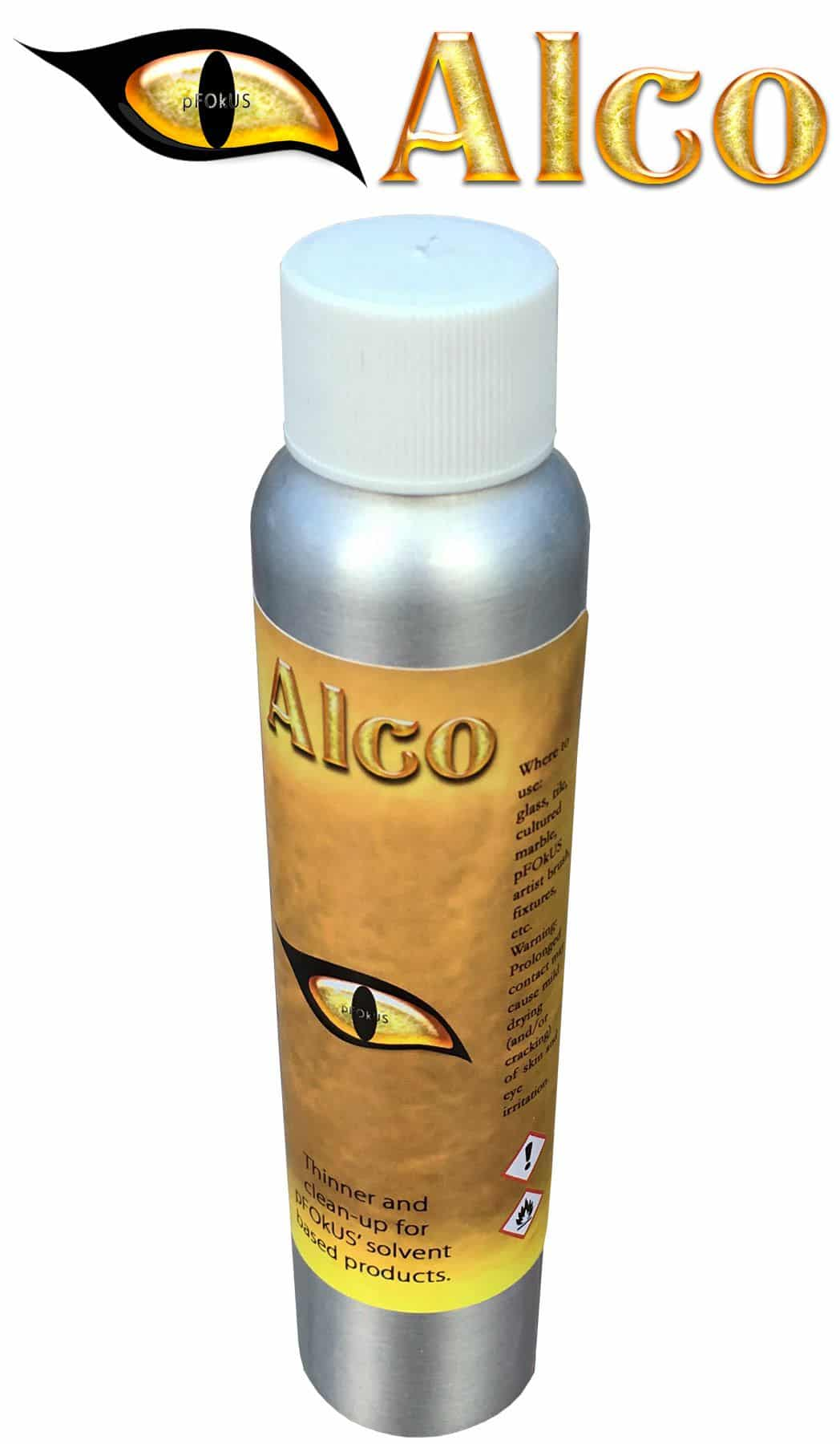 Alco - A Natural Alcohol based Paint Thinner and Reducer