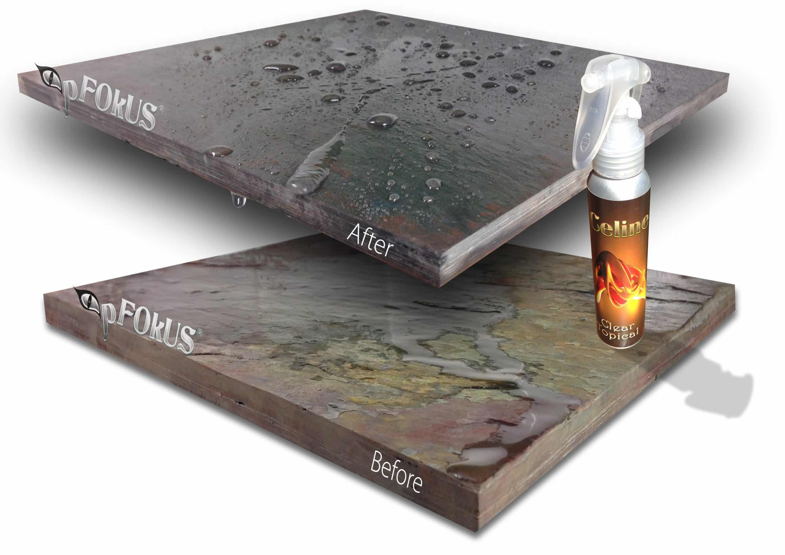 Celine - A Clear Solvent Stone Grout Sealer for Stone