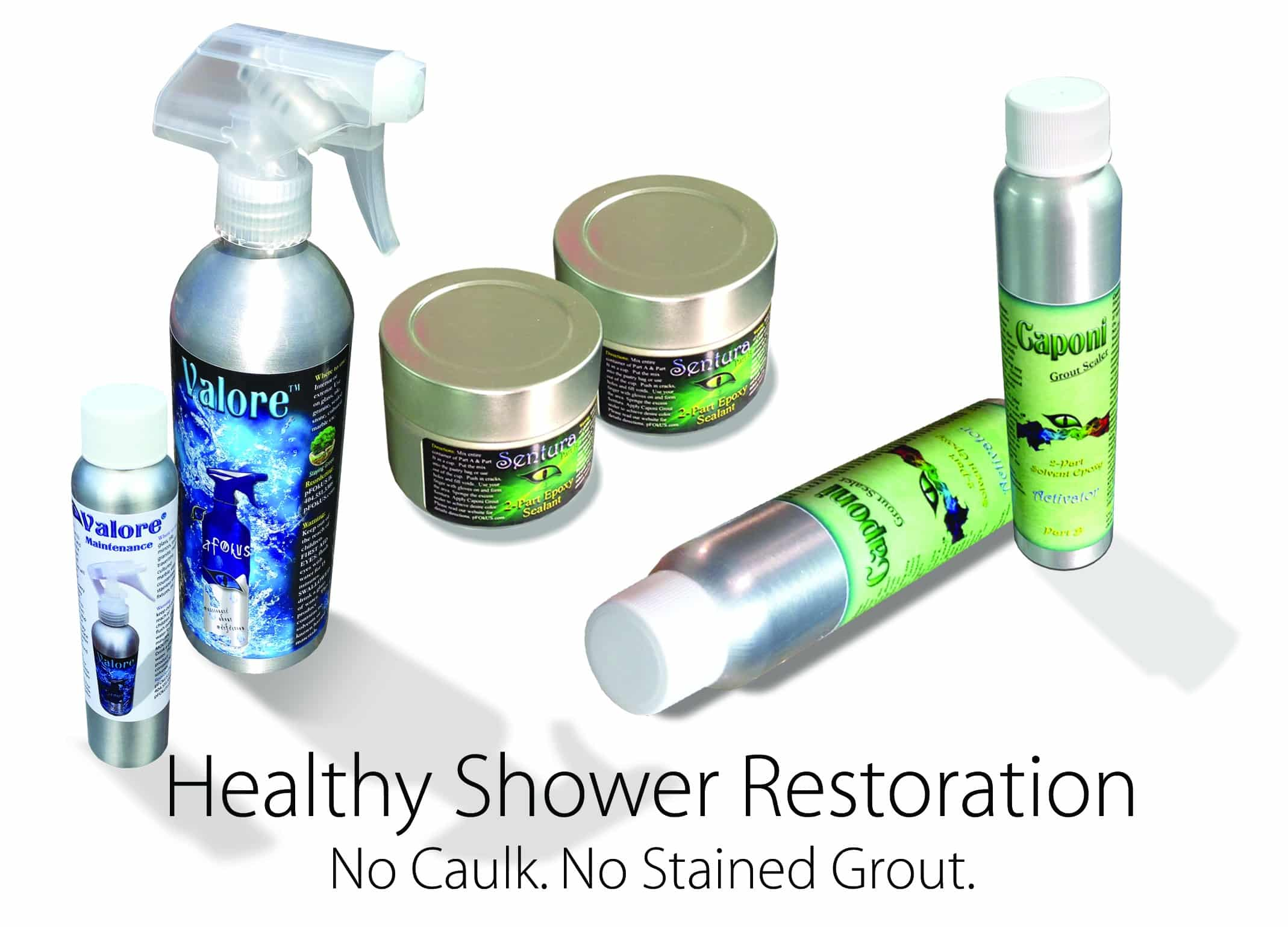 Shower Restoration Products