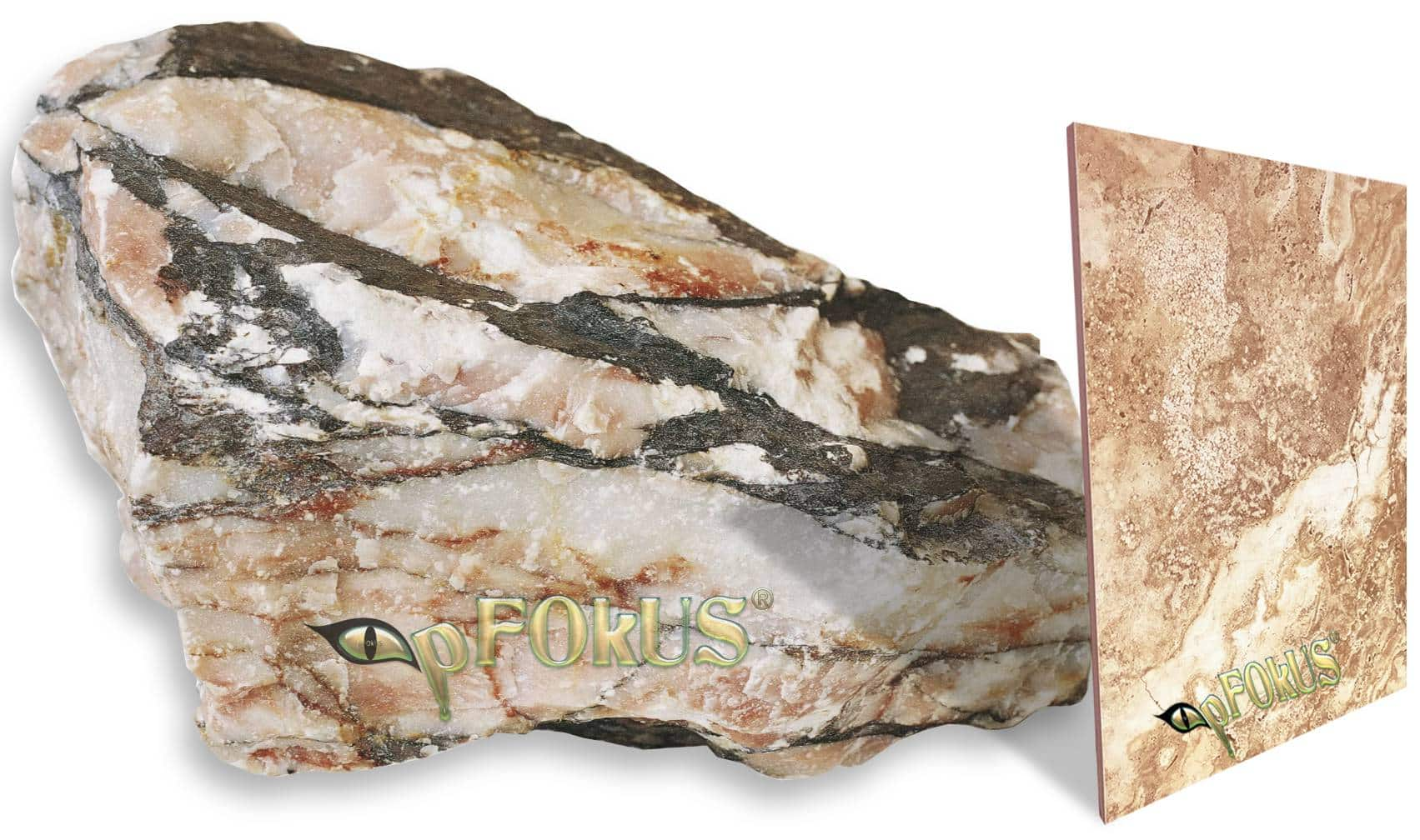 Marble stone core pFOkUS