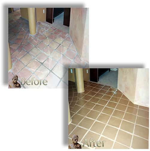 Saltillo Mexican Tile Restoration