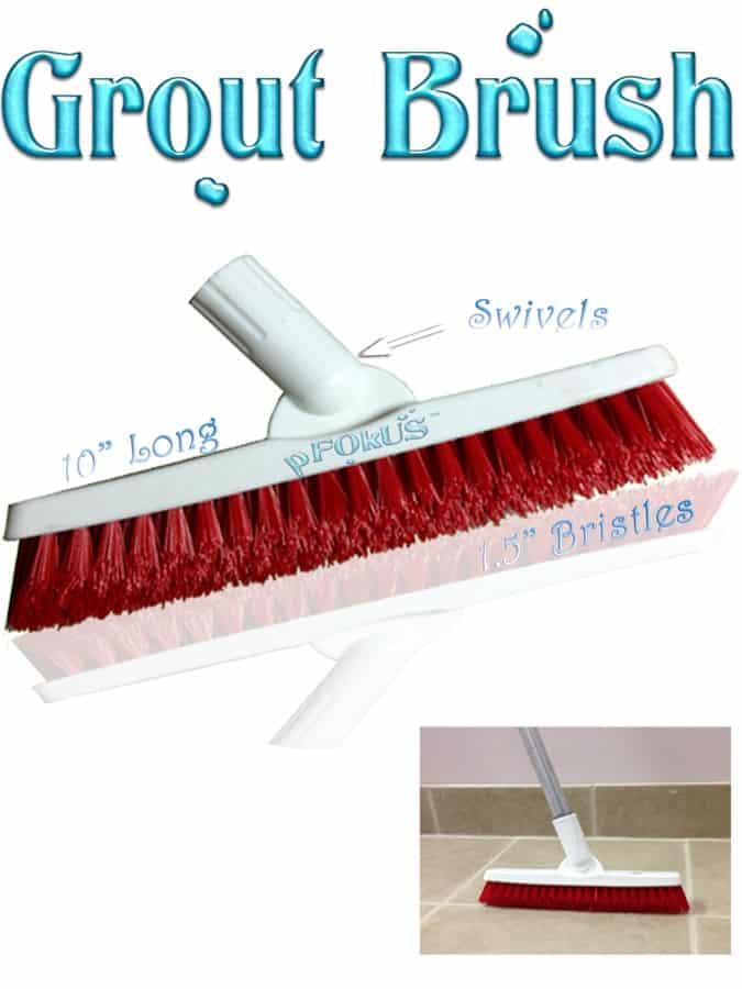 pFOkUS grout brush