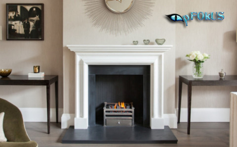 Tips on Cleaning a Stone Fireplace Surround