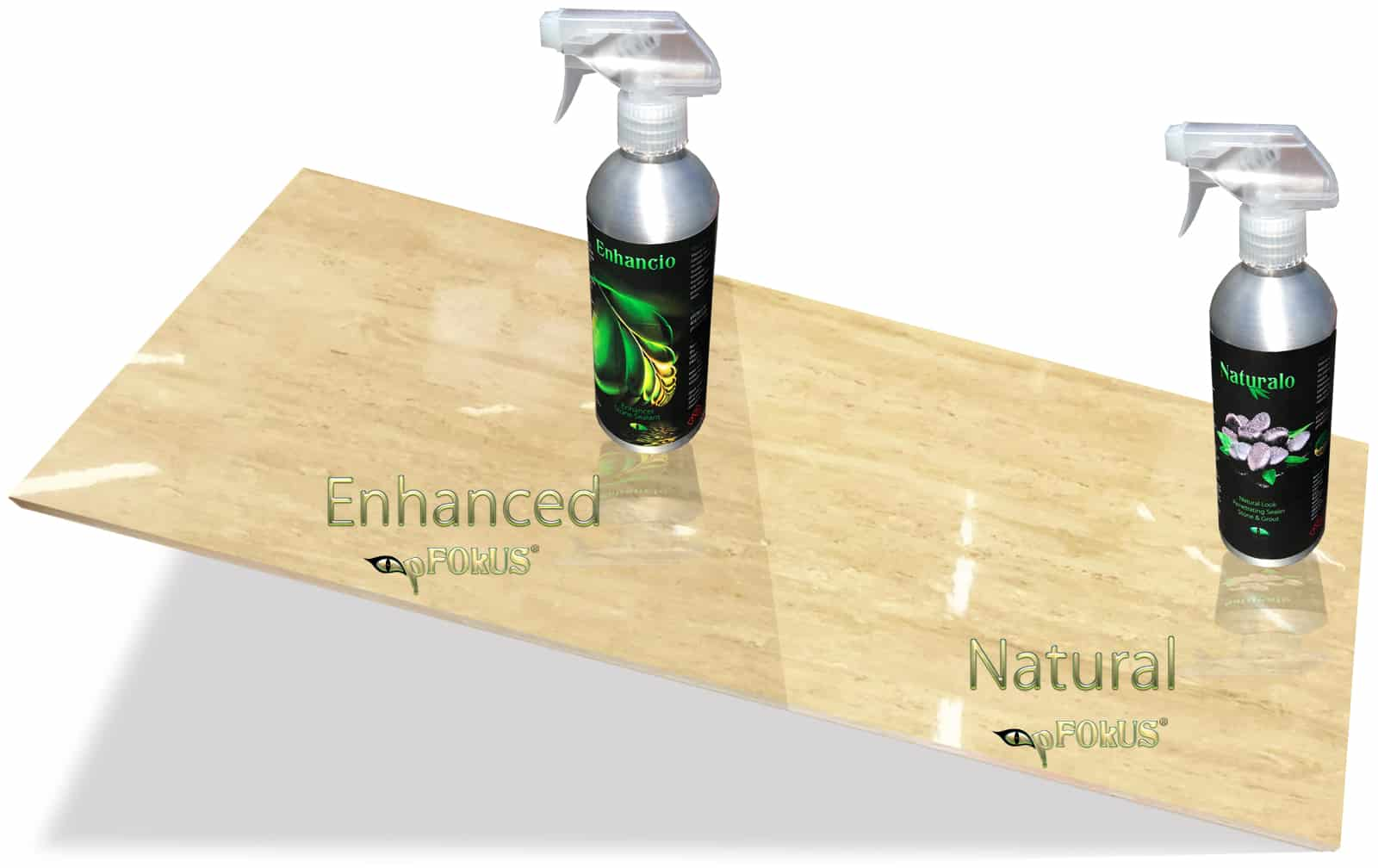 Polished Travertine Tile Sheen Sealers