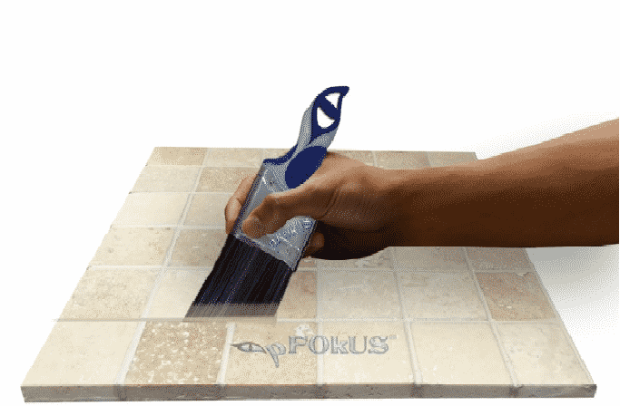 Grout Paint Brush for Painting Shower Grout Lines