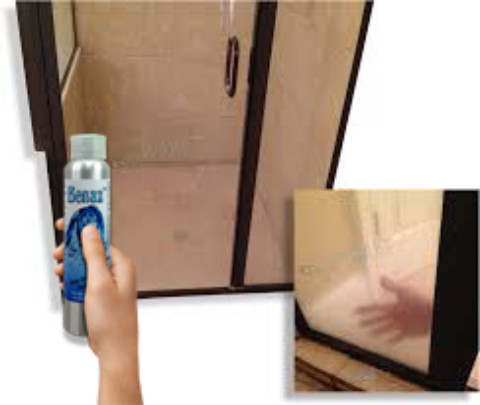 How to Clean Soap Scum & Hard Water Dots from Shower Doors | DIY