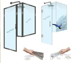Frameless/Framed Shower Door Seals and Sweeps : How To Prevent Leakage