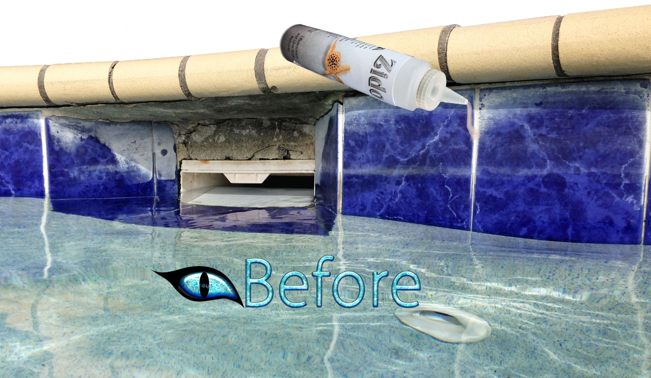 Pool Efflorescence Cleaner and remover
