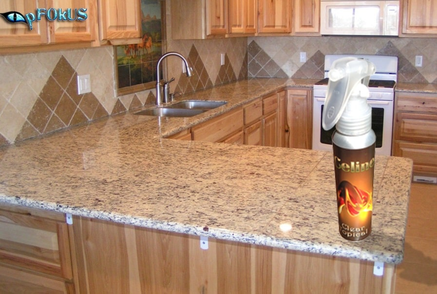 travertine countertop sealer