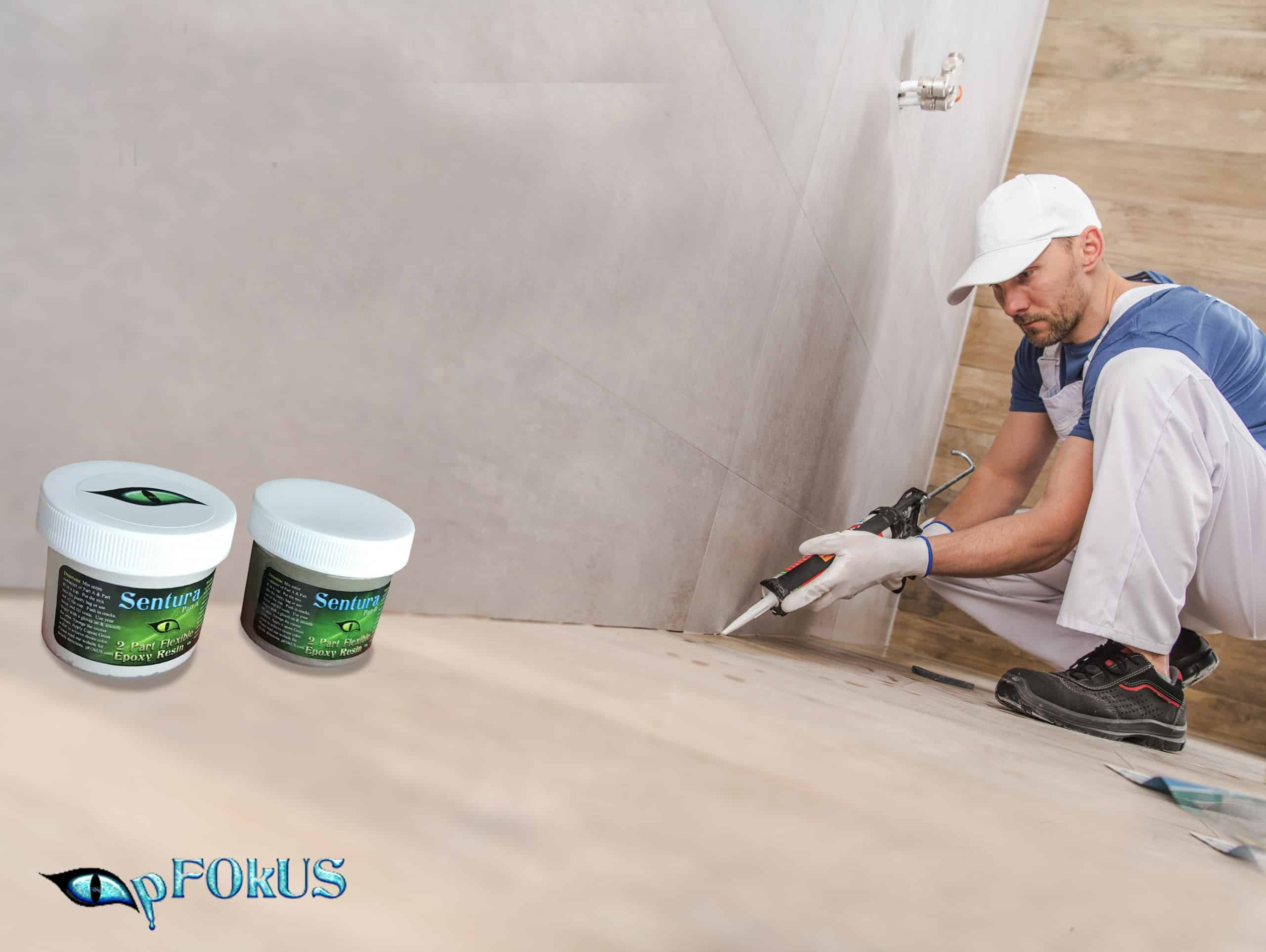 Caulk Substitute for Sealing Shower Corners - Sentura