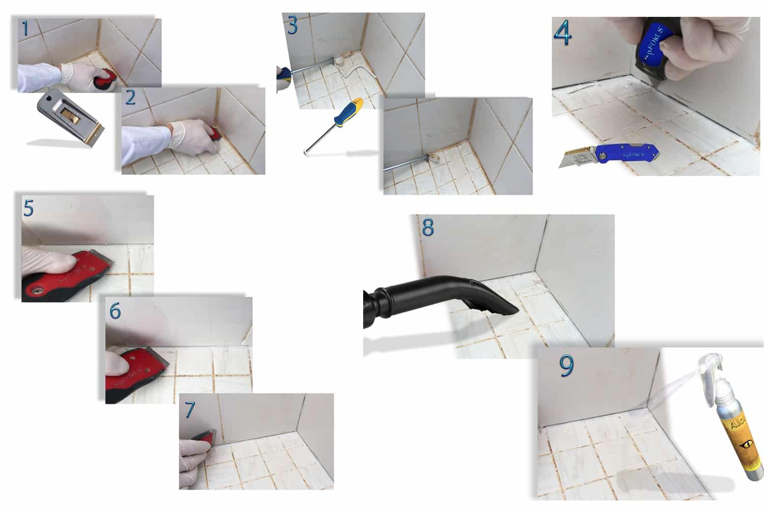 Caulk-Removal - Directions- pFOkUS