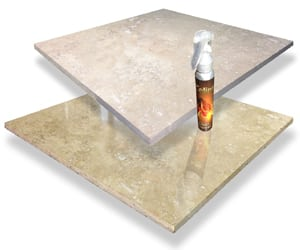 Travertine Floor Shine