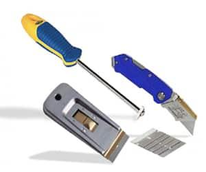 Right Caulk Removal Tool - sentura- pFOkUS
