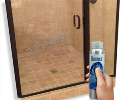 Benaz- an Ultimate Shower Glass Cleaner for Glass Doors