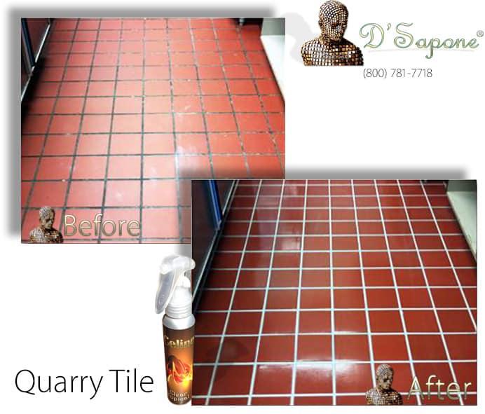 Quarry and Terracotta Tile Sealing - pFOkUS