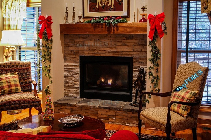 Stone Fireplace Cleaner around a Fireplace - imperia deep clean - pFOkUS