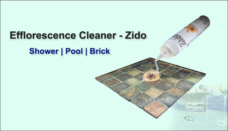 Efflorescence Cleaner - Zido