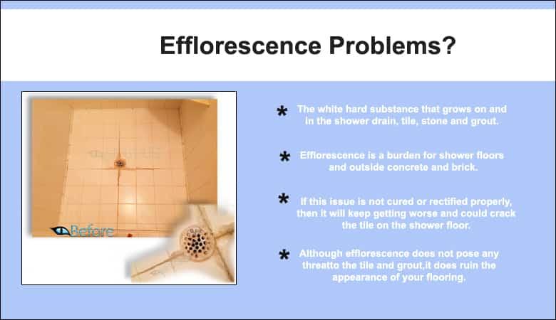 efflorence problmes