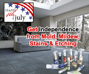 get freedom from mold, mildew stains & mold