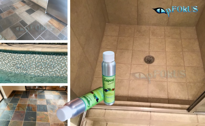 caponi -epoxy grout sealer - sanded and non sanded