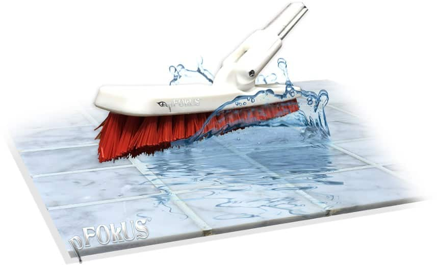 Grout Cleaning Brush with V-Notched Technology - pFOkUS