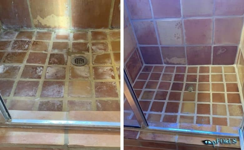 Essential Cleaning Products - Dirty, Stained, Greasy Floors Covered with Mold and Mildew - Imperia deep clean -